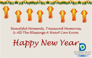 Samavat New year - Time for a Resolutions – Walk, Exercise stand be healthy